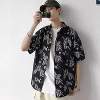 リーフデザインシャツ【LA00196】