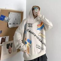 【HOT】ARTデザインオーバーサイズフーディー【PR00765】