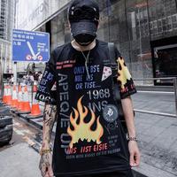 ファイヤーデザインTシャツ【RS00336】