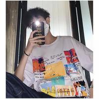 【TREND】アートWORDデザインTシャツ 3カラー