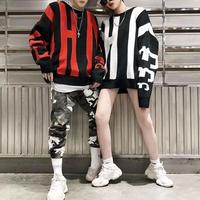 【11/11限定販売】THTデザインセーター風トレーナー 2カラ-