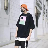コリアン風デザインTシャツ【S00038】