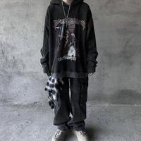 ストリートペイントデザインフーディー【SS00586】