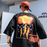 [COOL]クラウディーデザインビックTシャツ 3カラー