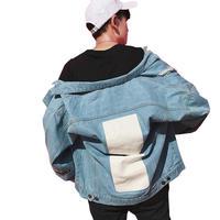 【GOOD】ホワイトアクセントデニムジャケット 2カラー