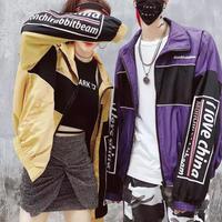 【大人気】トリプルカラーデザインジャケット 3カラー