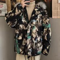 【COOL】カラフルデザインダウンジャケット【PR00691】
