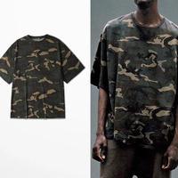 [売り切れ間近]ビックサイズ迷彩Tシャツ