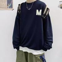 【トレンド】Mデザインビックトレーナー【LA00795】