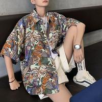 【DOPE】ジャングルデザインビックシャツ 2カラー