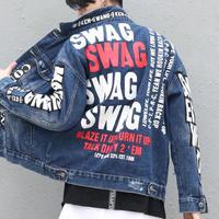 【大人気】SWAGデザインジャケット 2カラー