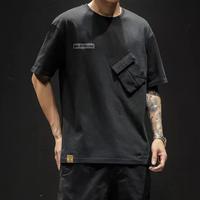 カジュアルポケットデザインTシャツ【PR00004】