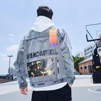 【HOT】VANCAデザインデニムジャケット【MI01016】
