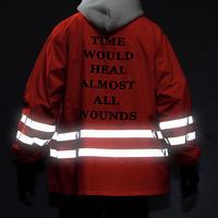 【STREET】リフレクトストライプジャケット 3カラー