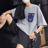 チェックポケットTシャツ【S000192】