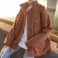 ネックワードデザインジャケット【LA00468】