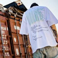 [COOL]Black smokeデザインTシャツ 2カラー