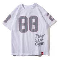 [TREND]88プリントデザインTシャツ 2カラー