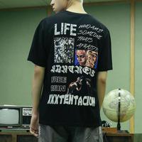 【大人気】LIFEデザインTシャツ 2カラー