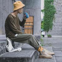 ワイドストリート風パンツ【LA00514】