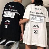【GOOD】ACMデザインビックサイズTシャツ 2カラー