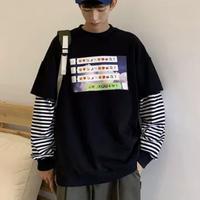 絵文字ロングTシャツ【LA00197】