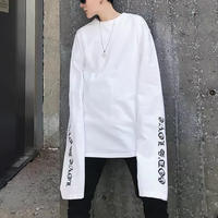 【TREND】ロングアームストリートTシャツ