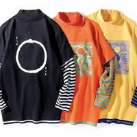【STREET】ADDレイヤーロングTシャツ 3カラー