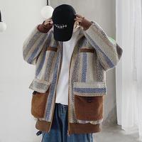 パッチワークデザインジャケット【LA00449】