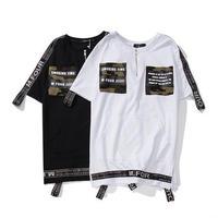 [TREND]M-FOURデザインTシャツ 2カラー