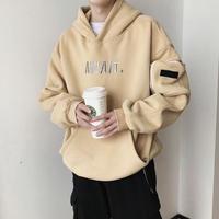 【トレンド】AWAITデザインフーディー 2カラー