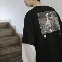 スペースデザインTシャツ【LA00176】