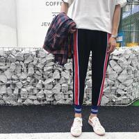 [COOL]ストリート風ラインパンツ 3カラー