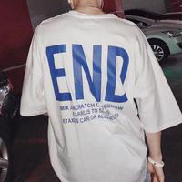[売り切れ間近]ENDデザインビックサイズTシャツ 3カラー