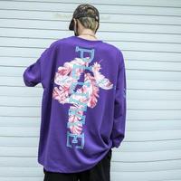 【オーバーサイズ 】PLUMデザインロングTシャツ【XX00931】