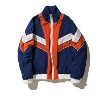 【大人気】ナイロンレトロ風ジャケット 2カラー