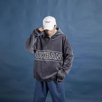 【大人気】UKBANデザインファスナーフーディー 2カラー
