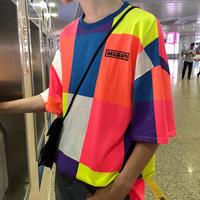 【GOOD】カラフルカラーデザインTシャツ