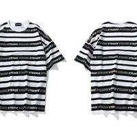 [大人気]STRANGEデザインTシャツ 2カラー