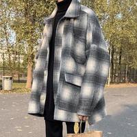 ウールチェックデザインジャケット【LA00510】
