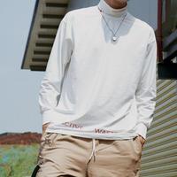 【再入荷】ACTIVEタートルネックTシャツ 2カラー