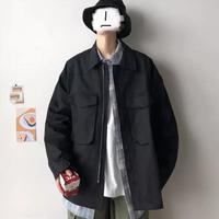 【再入荷】オーバーサイズデザインシンプルジャケット【FU00857】