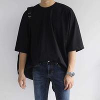 シンプルオーバーサイズTシャツ【B00012】