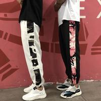【GOOD】迷彩ラインデザインパンツ 2カラー