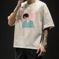 KoreanプリントTシャツ【PR00171】