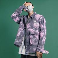 【大人気】グラデーションV &デザインジャケット【AE01011】