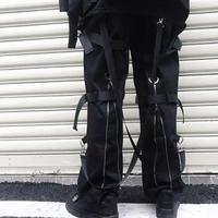 紐付きデザインストリート風ラフパンツ【TS00573】