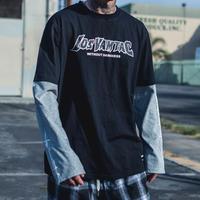 【STREET】LASデザインロングTシャツ 2カラー