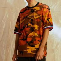 【売れ筋】ビックサイズカラフル迷彩Tシャツ 3カラー
