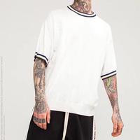 [売れ筋]ルーズサイズシンプルTシャツ 3カラー